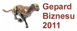 Logo promocyjne Gepard Biznesu 2011